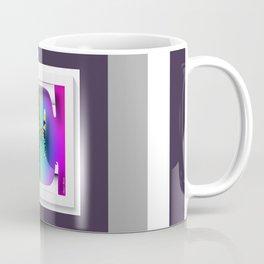 MONOGRAM INITIAL E FLORAL Coffee Mug