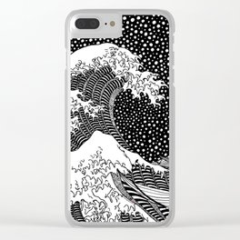 The wave of Hokusai Clear iPhone Case