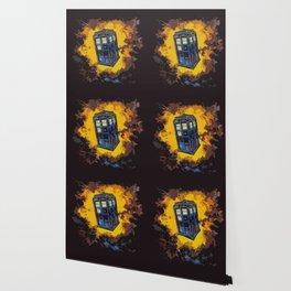 Tardis Explodes Wallpaper