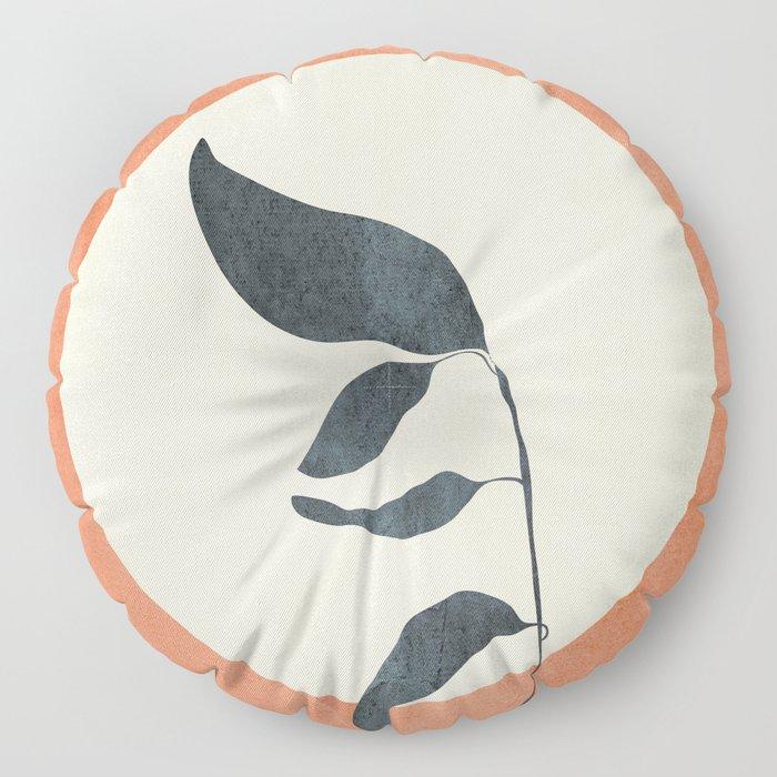 Summer Leaves Floor Pillow