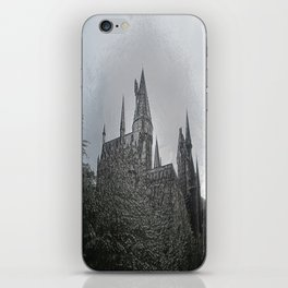 Castle Embossing iPhone Skin