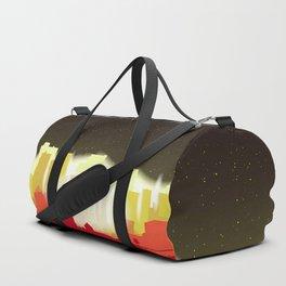 Night Sky City Glow Duffle Bag
