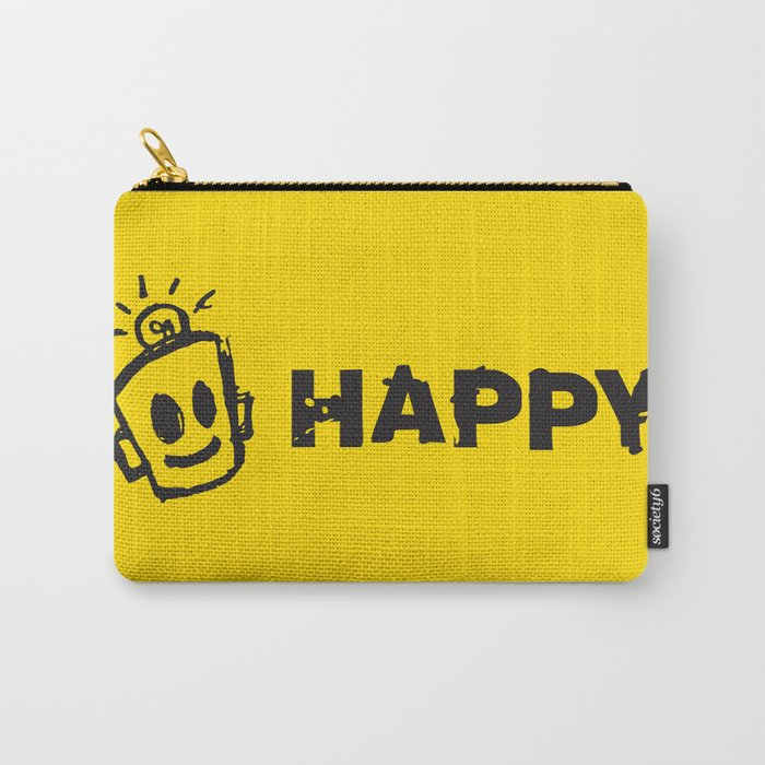 HAPPY  Carry-All Pouch