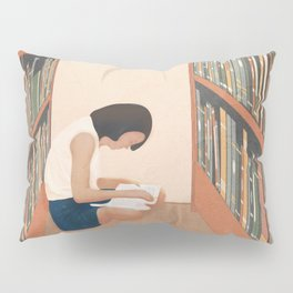 Getting Lost in a Book Pillow Sham