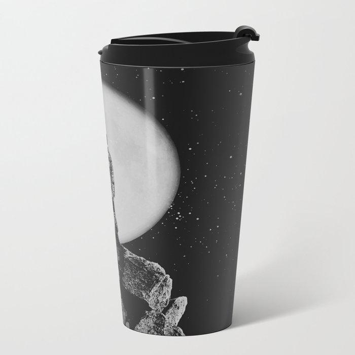With The Moon Metal Travel Mug