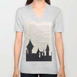 Hogwarts! Unisex V-Neck