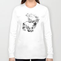 rat Long Sleeve T-shirts featuring Gym Rat by Textures