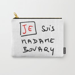 Je suis Madame Bovary Carry-All Pouch