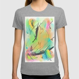 Abstract sunrise CS15 T-shirt