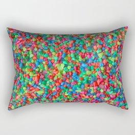 Rainbow gravel Rectangular Pillow