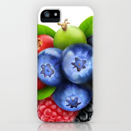 Bunch of berries iPhone Case