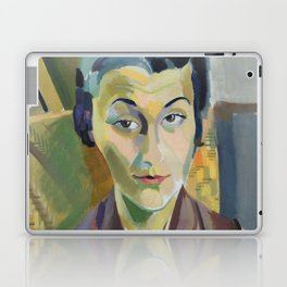 "Robert Delaunay ""Portrait of Maria Lani"" Laptop & iPad Skin"