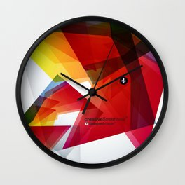 Abstrakt Wall Clock
