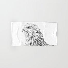 she's a beauty drawing Hand & Bath Towel