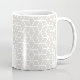 Sketched optical cubs Coffee Mug