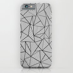 Abstraction Lines #2 Black and White Slim Case iPhone 6