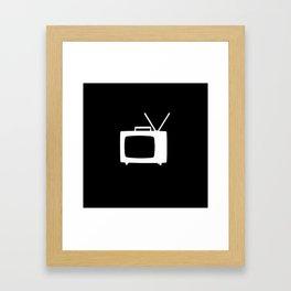 TV Framed Art Print