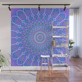 Lights Of Avatar Mandala - Faded Wall Mural