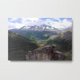Whitepass - Alaska Metal Print