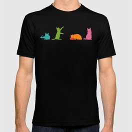 Cats Multicolor T-shirt