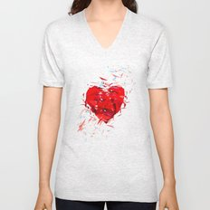 Fragile Heart Unisex V-Neck