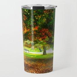 Changing colors of fall. Travel Mug