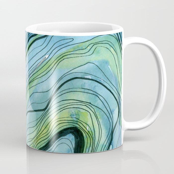 Blue Lace Agate I Coffee Mug