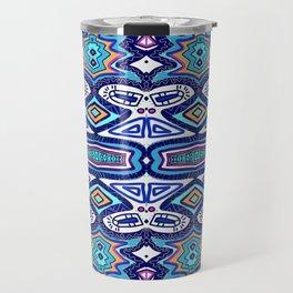 Graffiti Pattern Travel Mug
