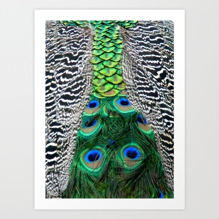 Nature's pattern Art Print