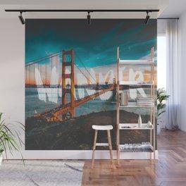 Wander Golden Gate Bridge Wall Mural