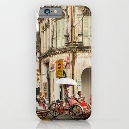 George Town, Penang Trishaw Break 2 iPhone Case