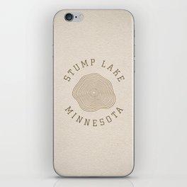 Stump Lake iPhone Skin