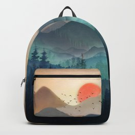 Wilderness Becomes Alive at Night Backpack