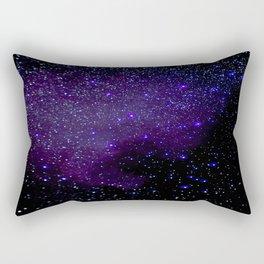 Indigo Stars Rectangular Pillow