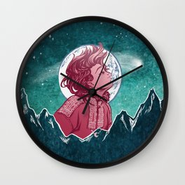 The Astronomer Who Met The North Wind Wall Clock