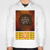 dean winchester Hoodies featuring dean winchester by Papa-Paparazzi