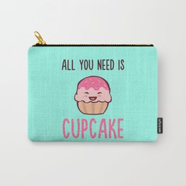 Cupcake is LIFE Carry-All Pouch