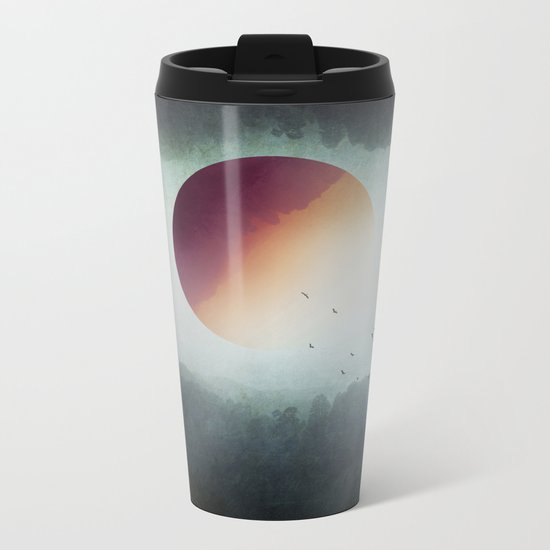 impossible wilderness Metal Travel Mug