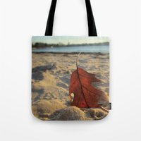 sand Tote Bags featuring Sand by Jillian Stanton
