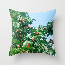 Russian Apple Tree 35mm Throw Pillow