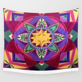 Blooming Metatron Wall Tapestry