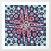 Pattern Wear 10 Art Print
