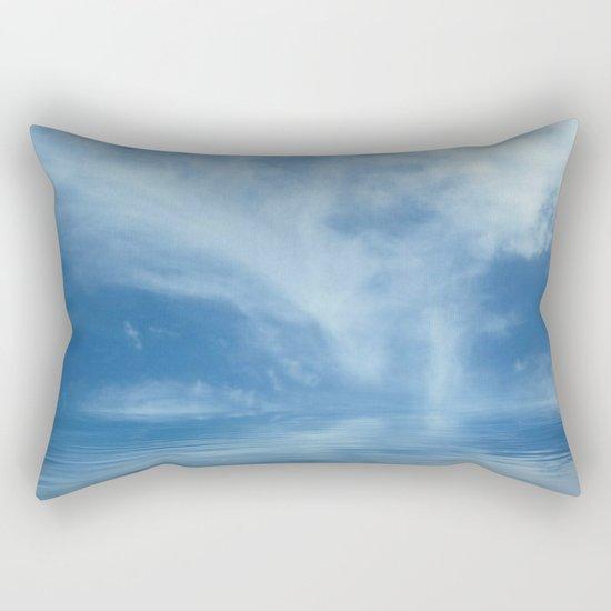 Sky Meets Sea Rectangular Pillow