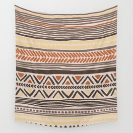 Hand-Drawn Ethnic Pattern Wall Tapestry