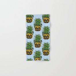 Pineapple French Bulldog Hand & Bath Towel