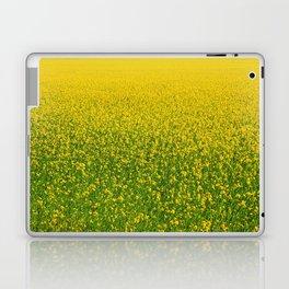 Mustard Field (of Yellow and Green) Laptop & iPad Skin