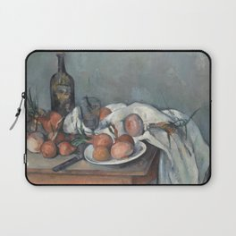 Still Life with Onions Laptop Sleeve
