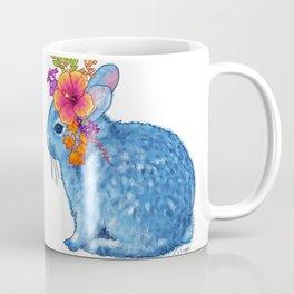 Flower Bunny Coffee Mug