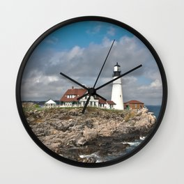 Port Head Lighthouse Wall Clock