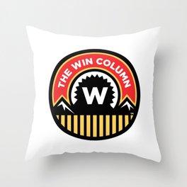 The Win Column Throw Pillow